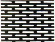 PERFORATED STEEL SHEET OVAL