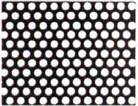 PERFORATED STEEL SHEET ROUND